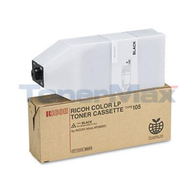 RICOH AP3800 TYPE 105 TONER CASSETTE BLACK